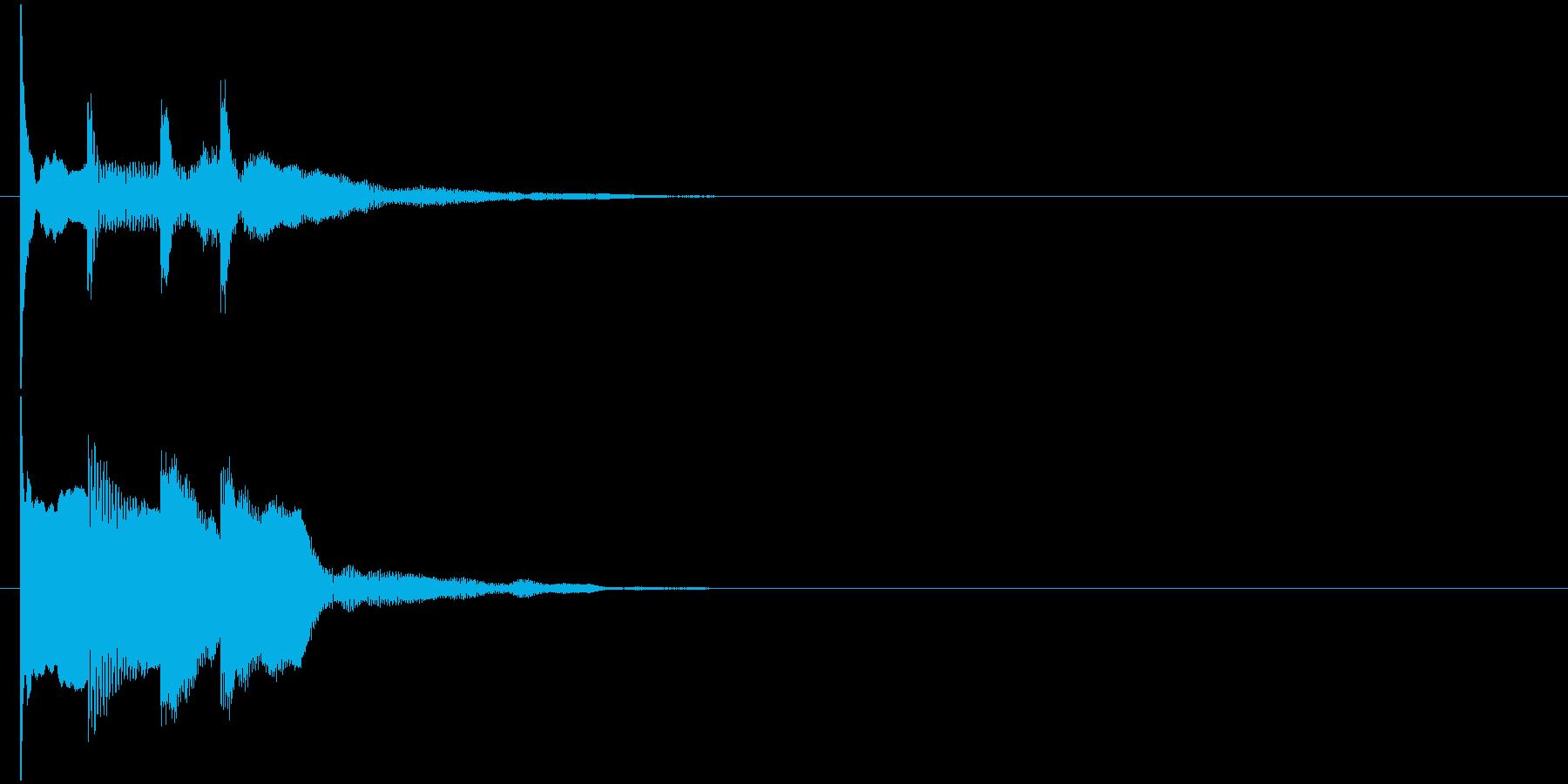 汎用 近未来系10(連) セリフ音の再生済みの波形