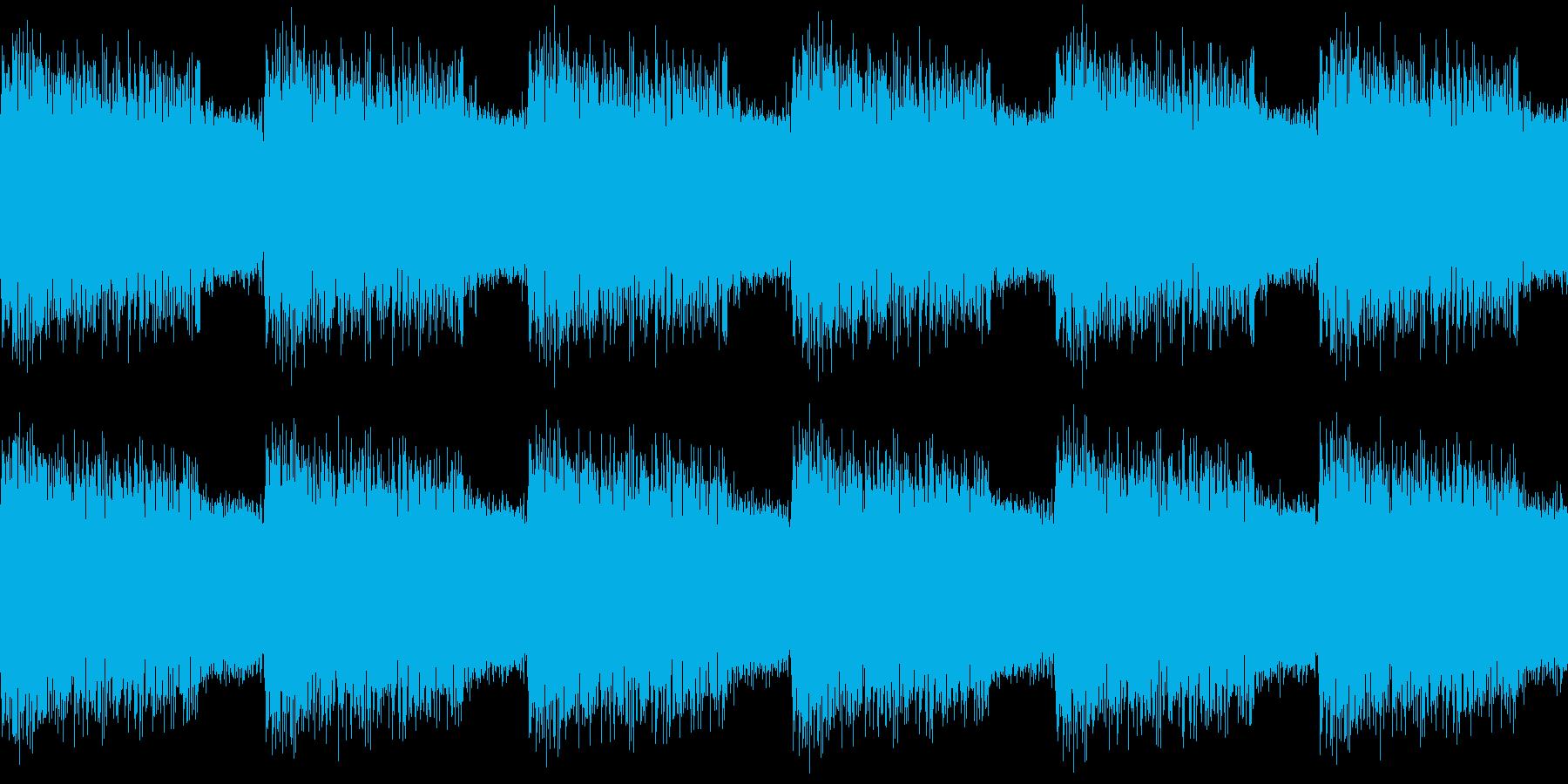 警告音_Alarm SEの再生済みの波形