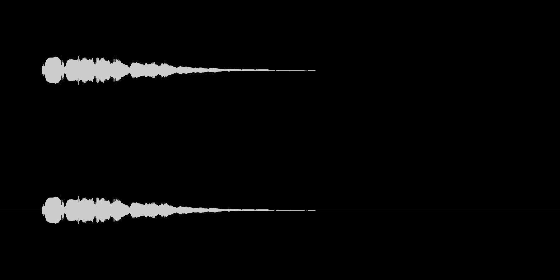 【ショートブリッジ26-8】の未再生の波形