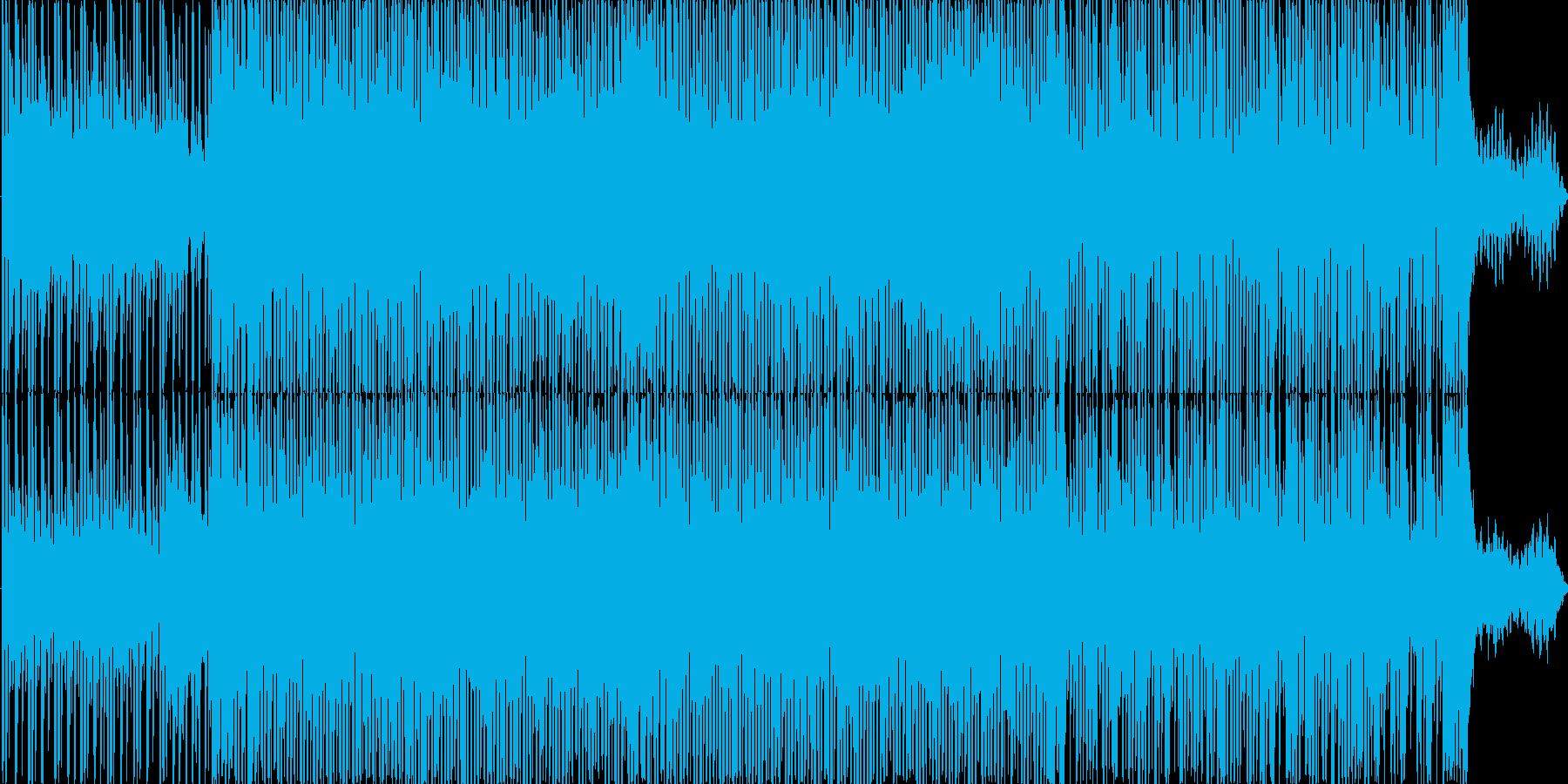 テクノです。シンプルで楽しい感じです。…の再生済みの波形