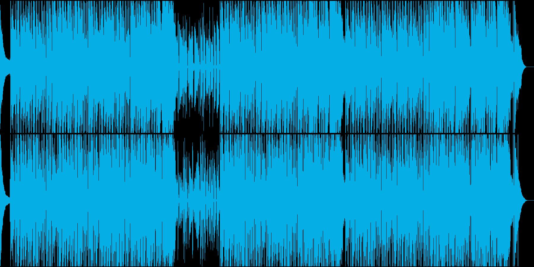 スローでシンプルなボサノバ_02の再生済みの波形