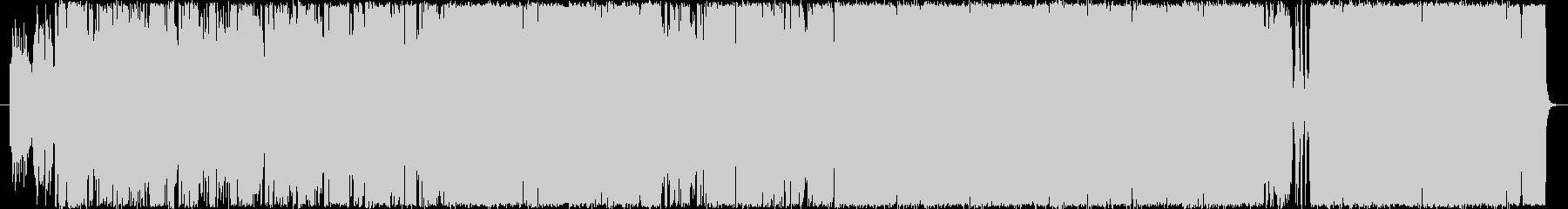 TUBEのような感動的結婚式ソングの未再生の波形