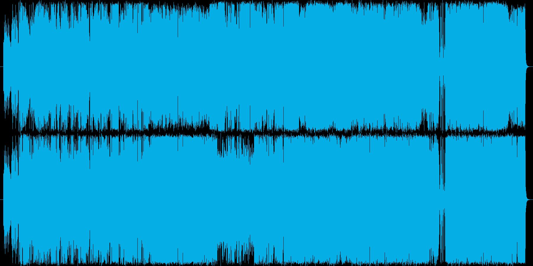 TUBEのような感動的結婚式ソングの再生済みの波形