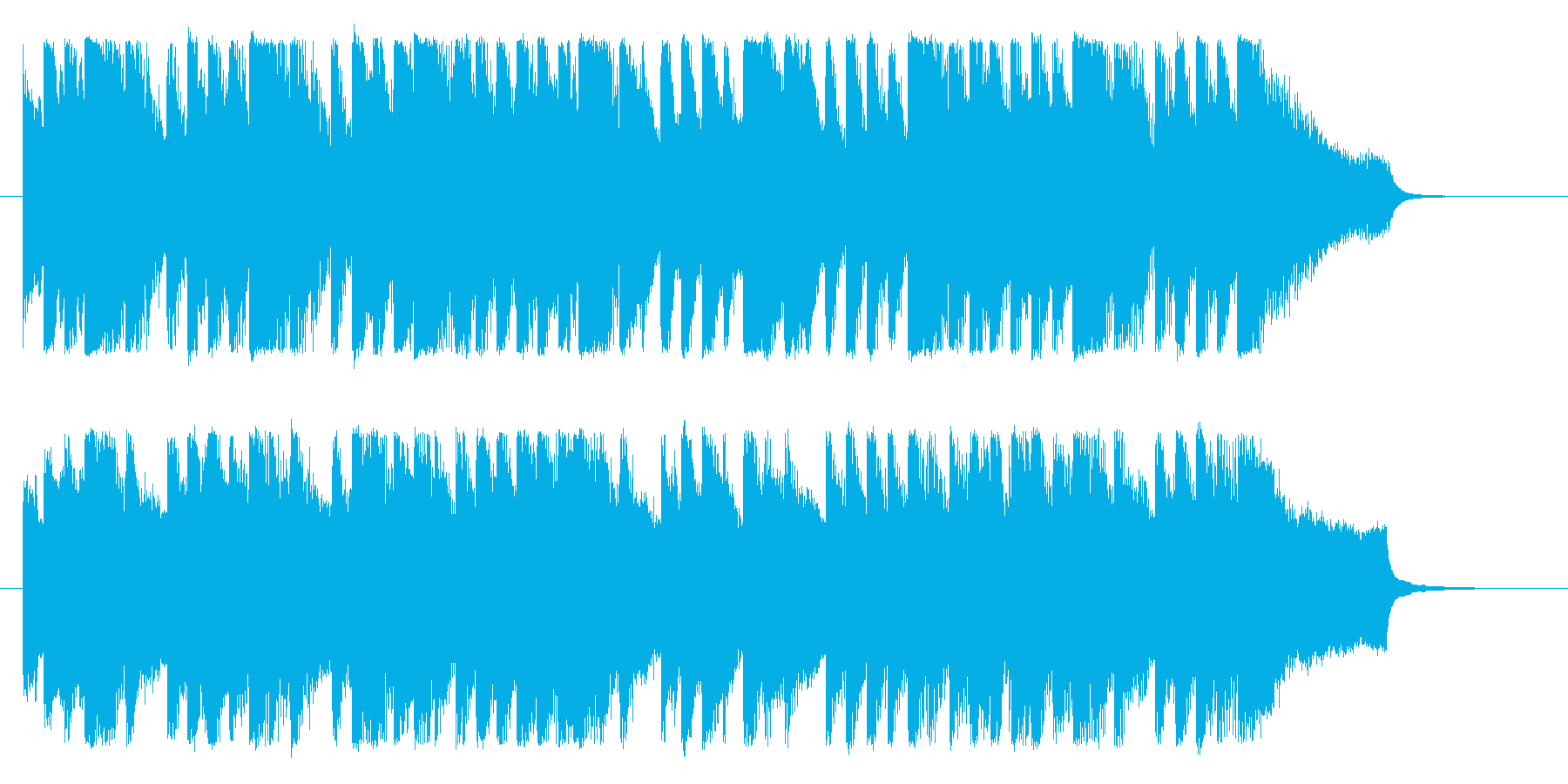 子供向け、短めのBGMです。の再生済みの波形
