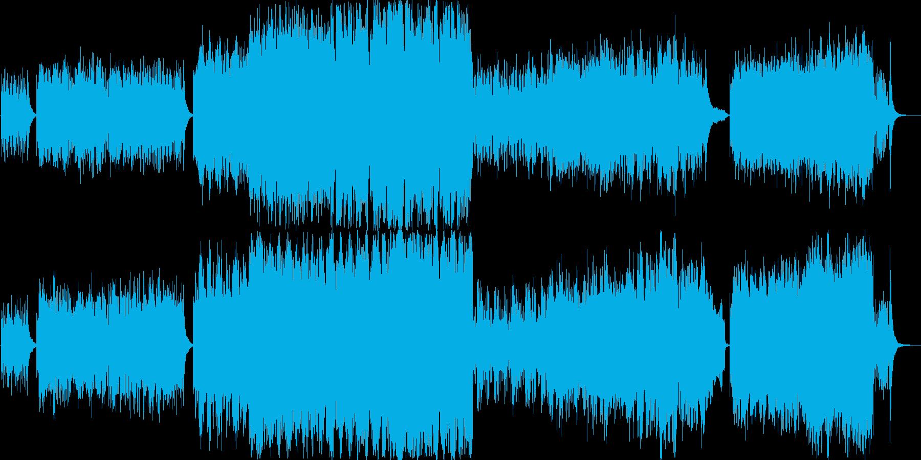 ハープシコードオーケストラ 天空へ続く塔の再生済みの波形