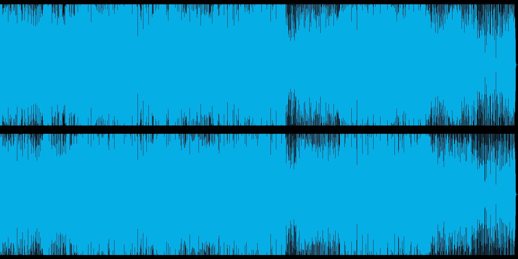 朝の目覚めをイメージしたEDMの再生済みの波形