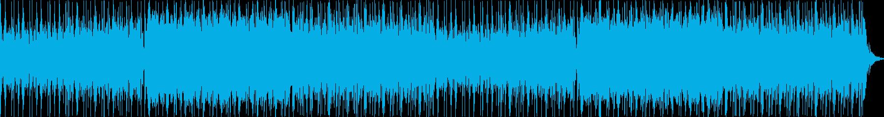 ややダークめの臨戦感高まるイメージの再生済みの波形