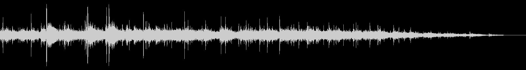拍手の効果音(小規模/劇場/舞台)11の未再生の波形