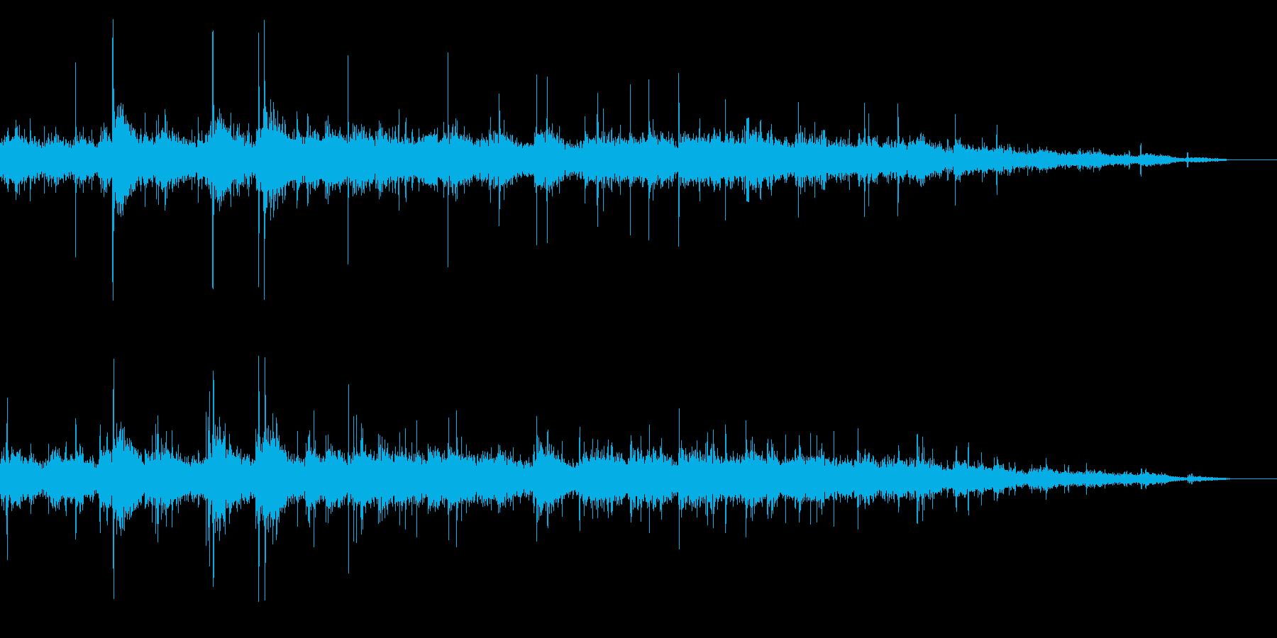 拍手の効果音(小規模/劇場/舞台)11の再生済みの波形