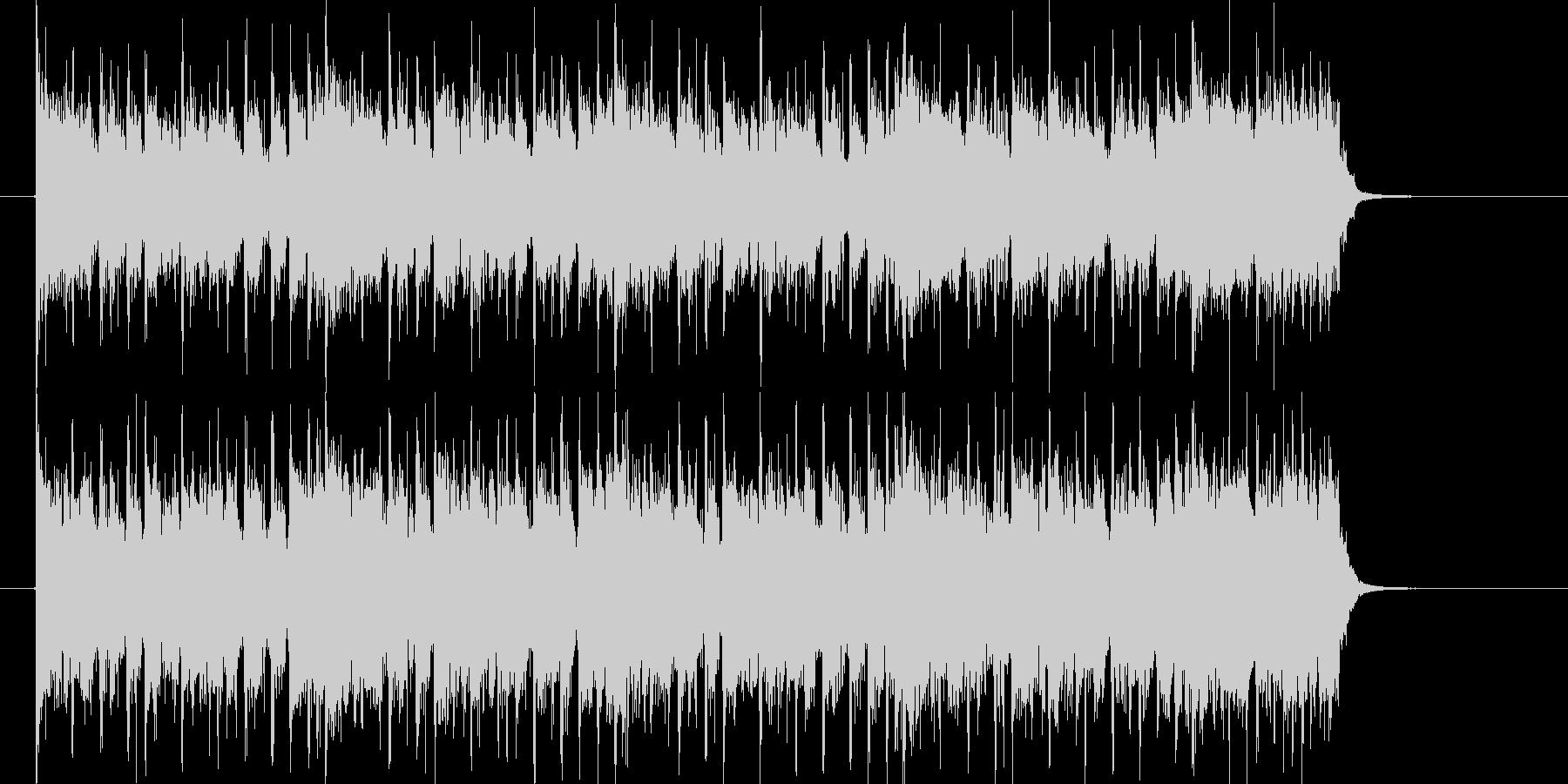 ベース音が印象的なシンセミュージックの未再生の波形