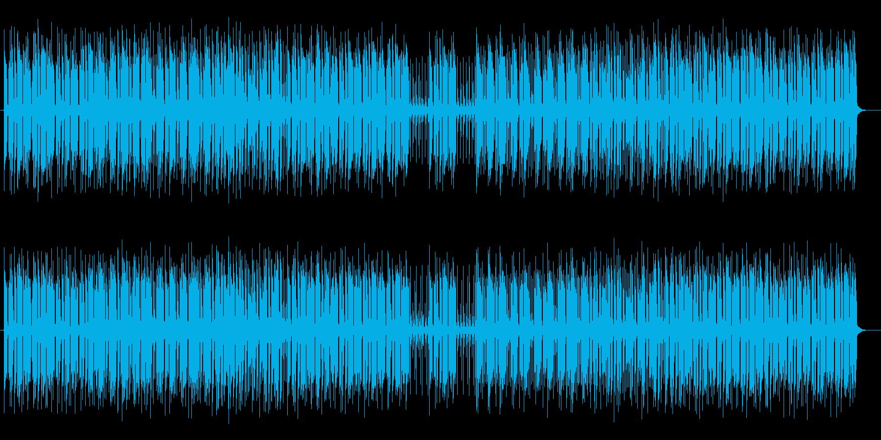 爽やかリゾート感のシンセサイザーサウンドの再生済みの波形