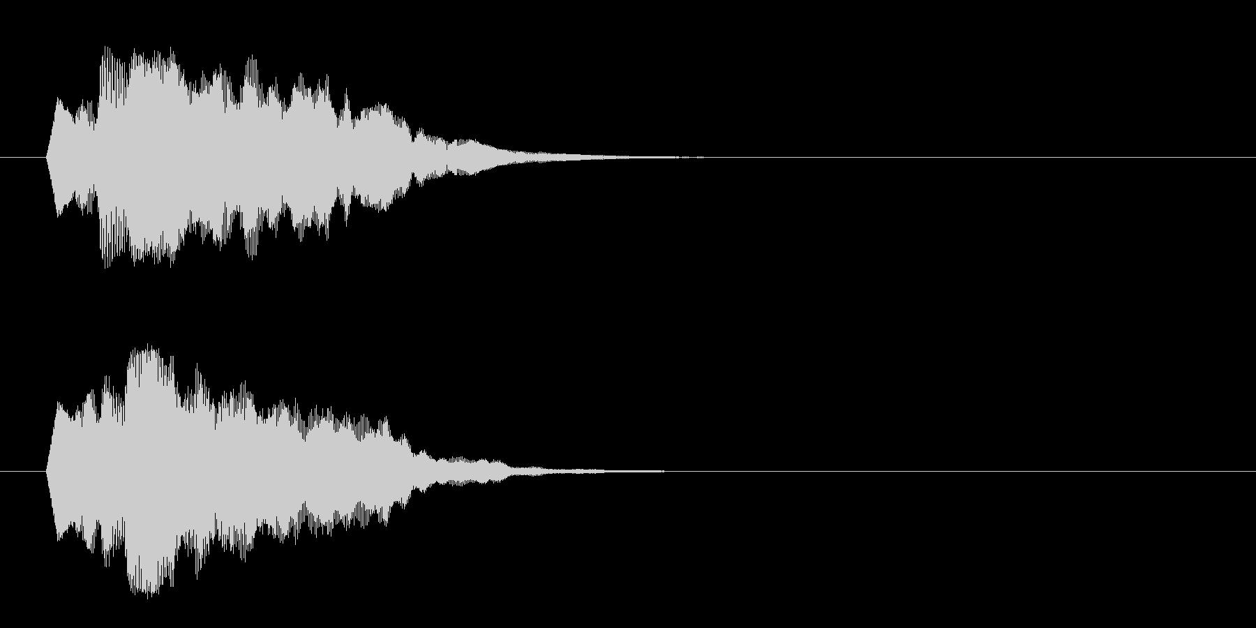 ジングル/環境(清涼/場面転換)の未再生の波形