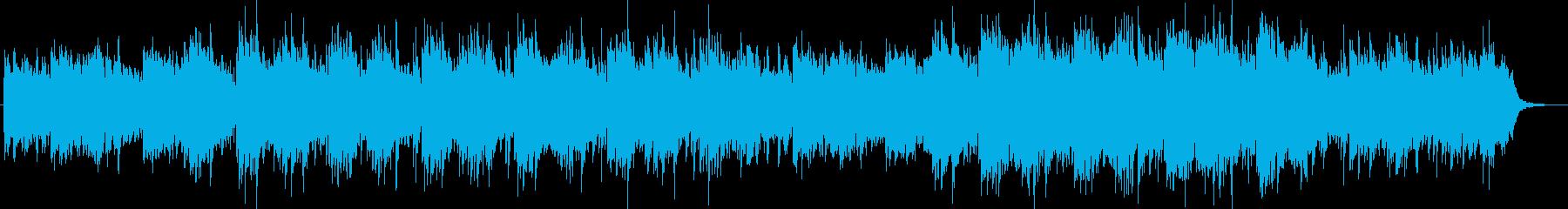 ドラマチックなシンセサイザーポップの再生済みの波形
