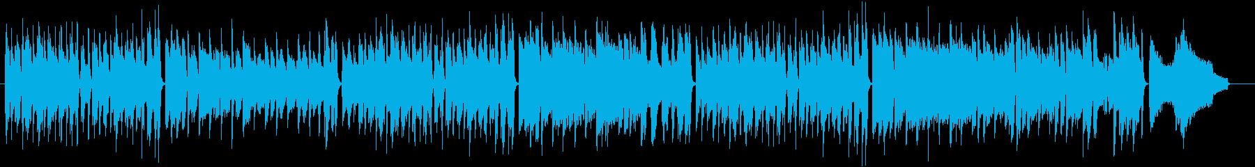 ほのぼのゆったりまったりアコースティックの再生済みの波形