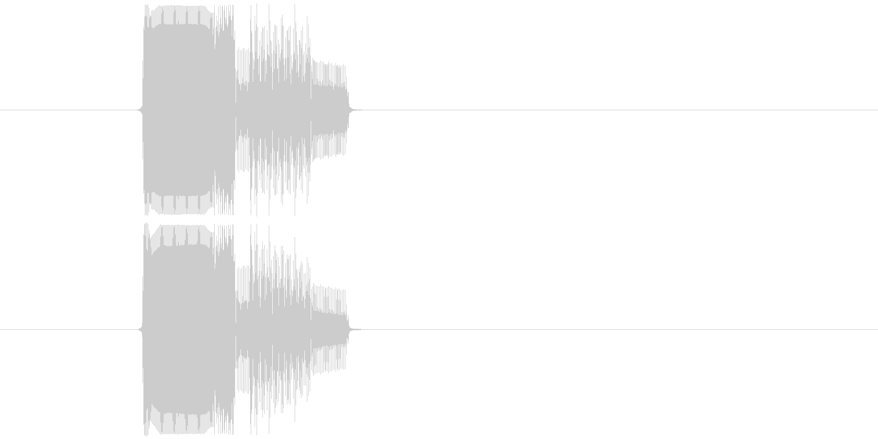 ゲームのカーソル音や決定音にピッタリな…の未再生の波形