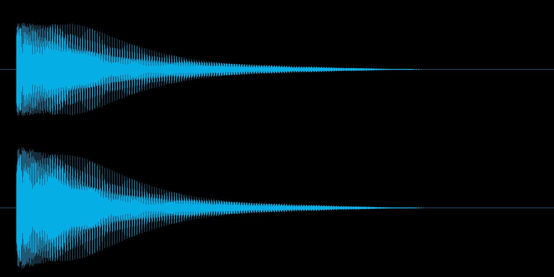 ティンーの再生済みの波形