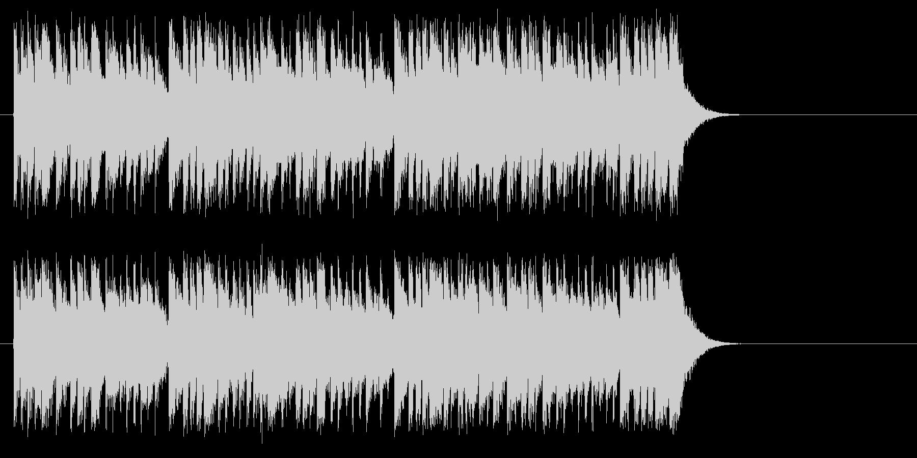 情熱サウンド・フュージョン風の未再生の波形