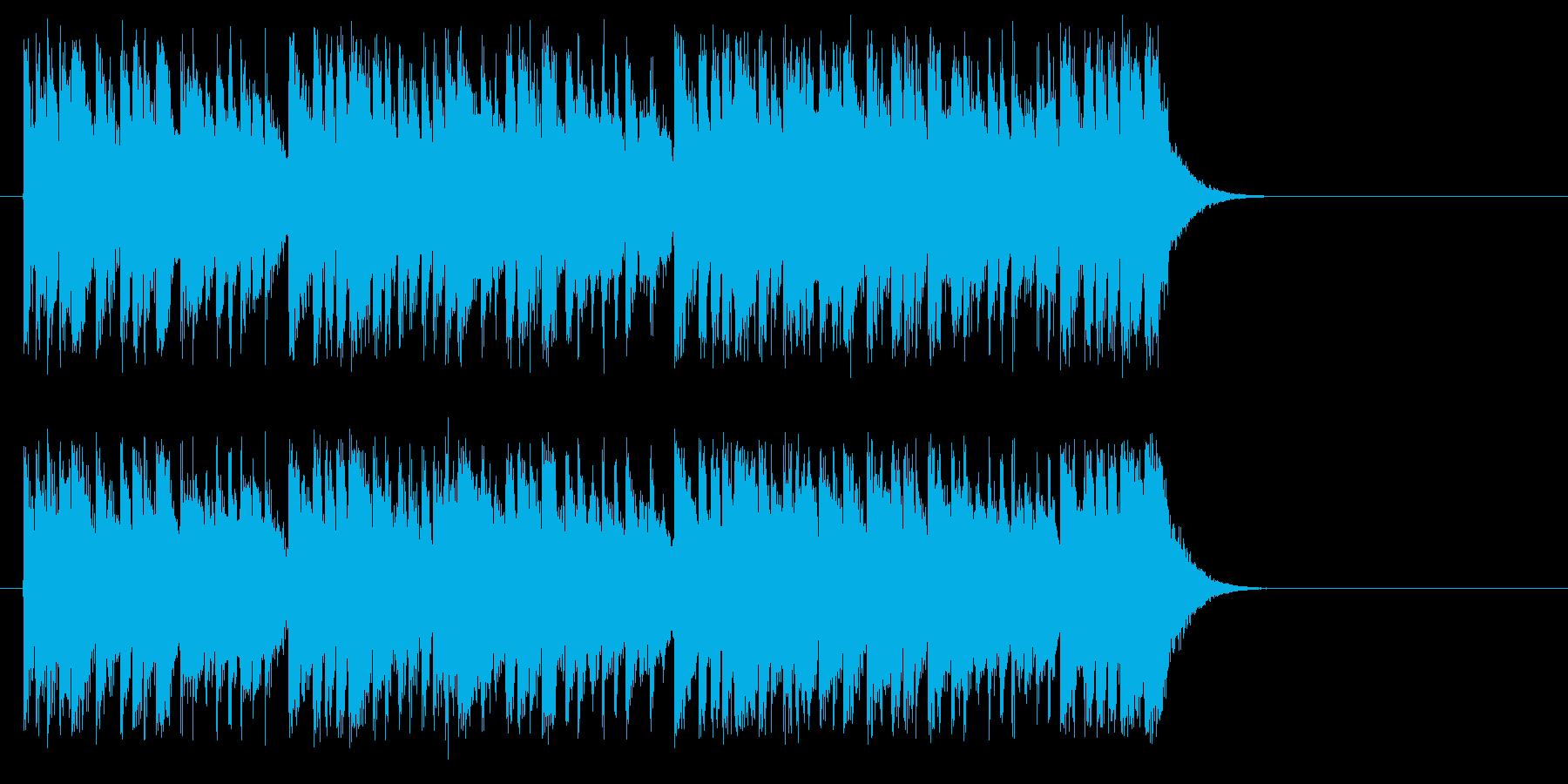 情熱サウンド・フュージョン風の再生済みの波形