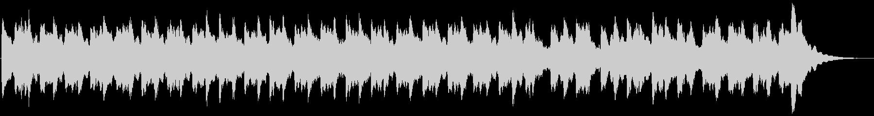 ビブラフォンの30秒キラキラチャイムの未再生の波形