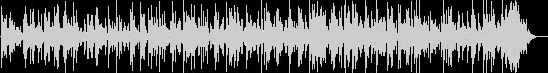 メランコリックな落ち着きのあるギター音の未再生の波形