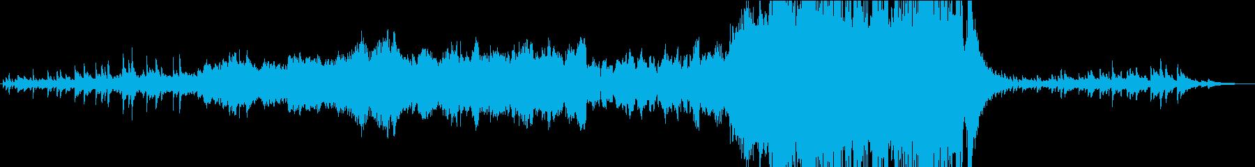 オープニングorエンディング想定の曲ですの再生済みの波形