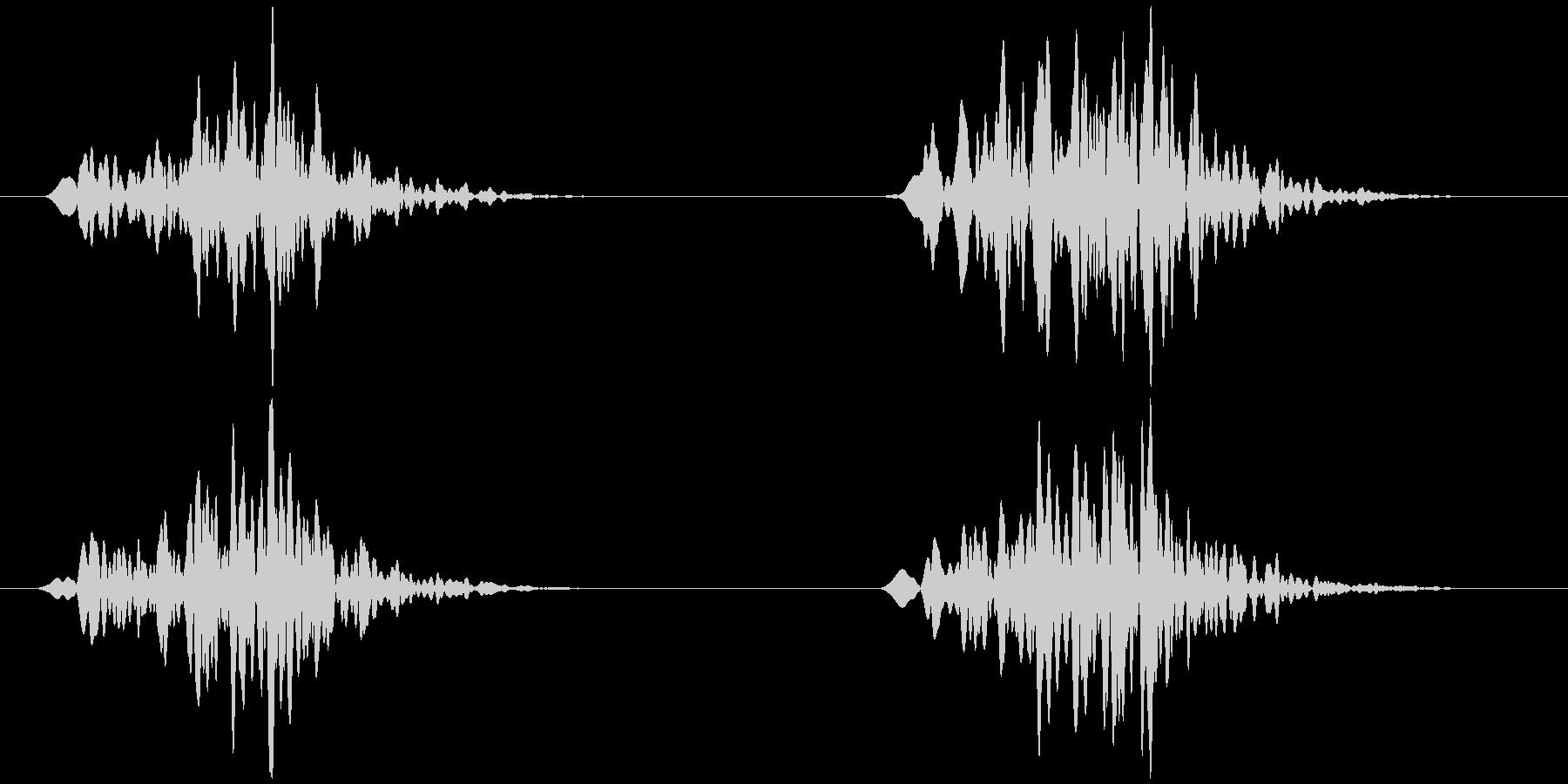虫の鳴き声 架空/想像 ヒョロッヒョロッの未再生の波形