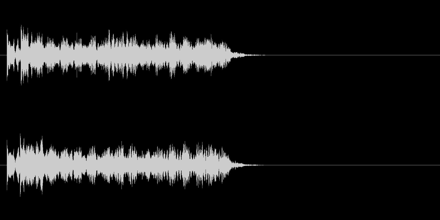 ピュンピュンピュン(魔法のビーム音)の未再生の波形