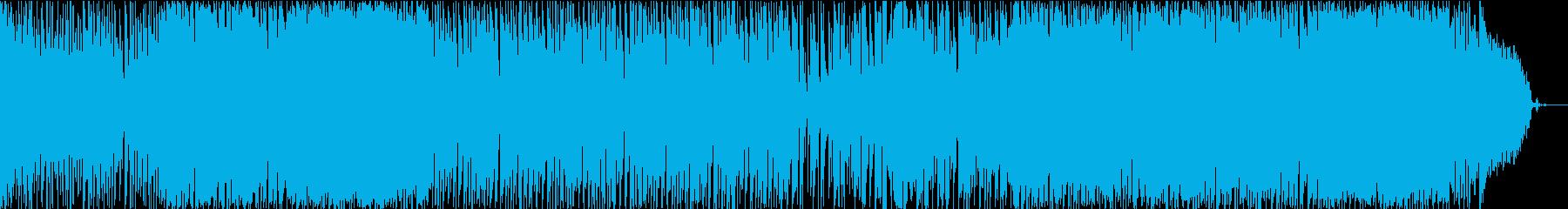 ゆったりした雰囲気のボサノヴァの再生済みの波形