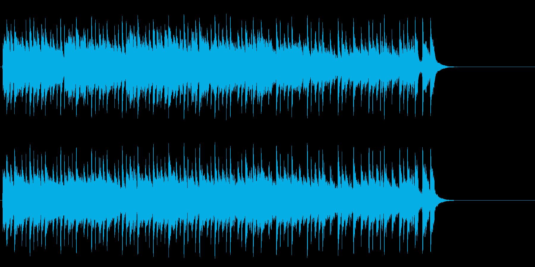 ほのぼのとしたポップ(サビ~エンド)の再生済みの波形