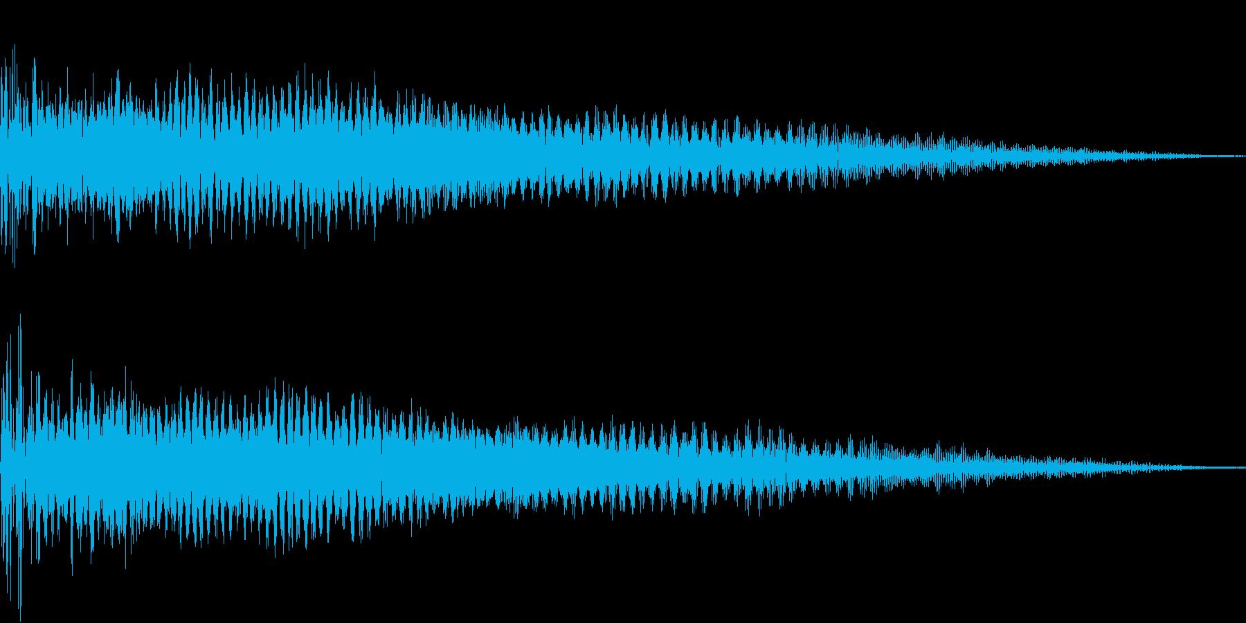 InvaderBuzz 発砲音 34の再生済みの波形