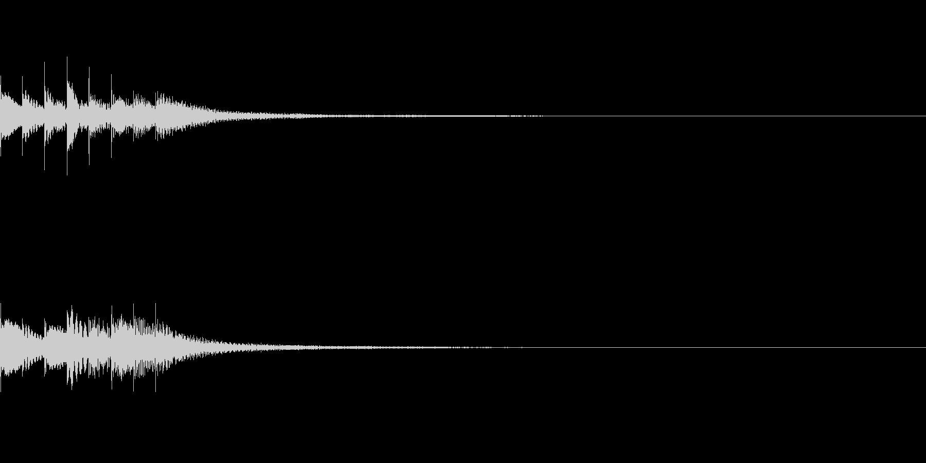 キラリン02の未再生の波形