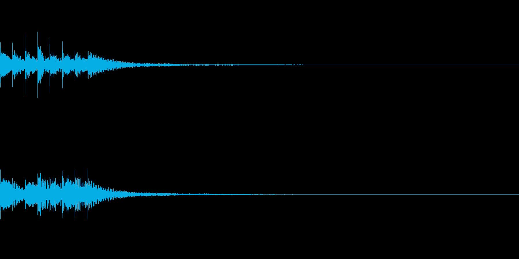 キラリン02の再生済みの波形