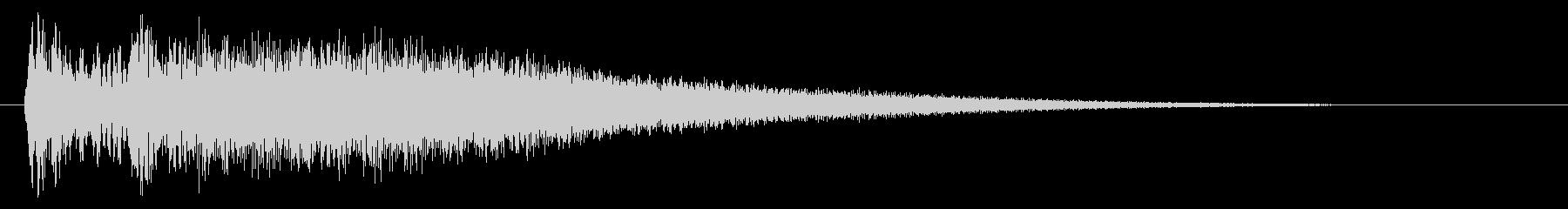 チリン、チン(コイン獲得音、ひらめき)の未再生の波形