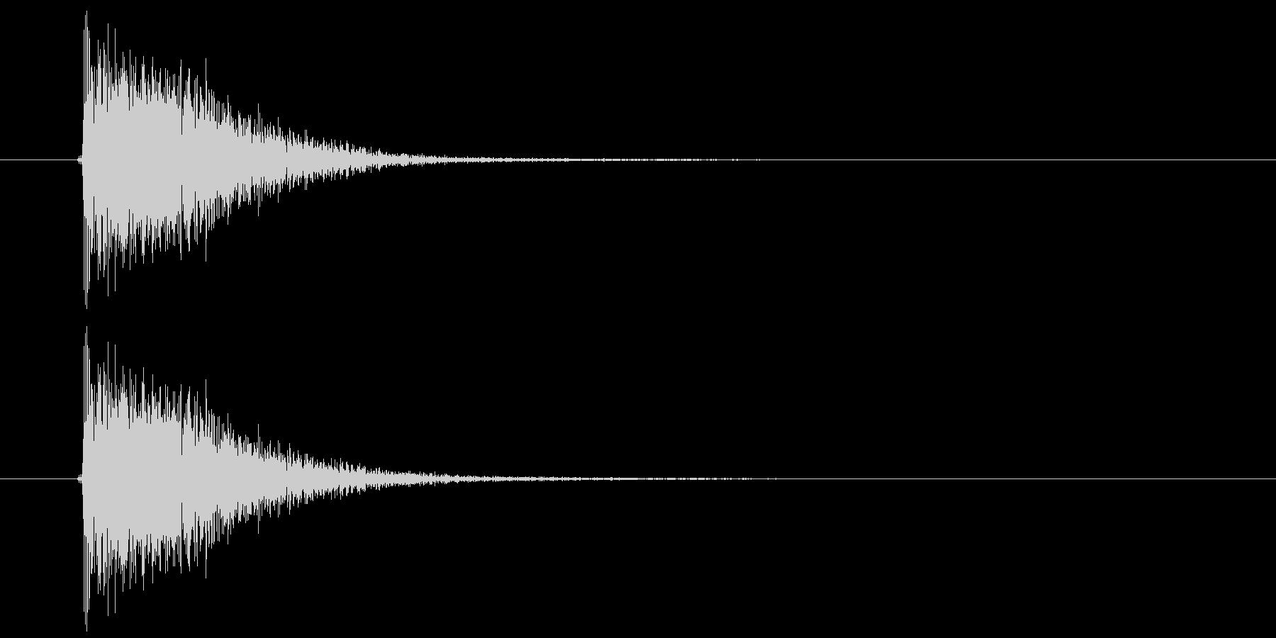 ジャン(登場、終了、発表)の未再生の波形