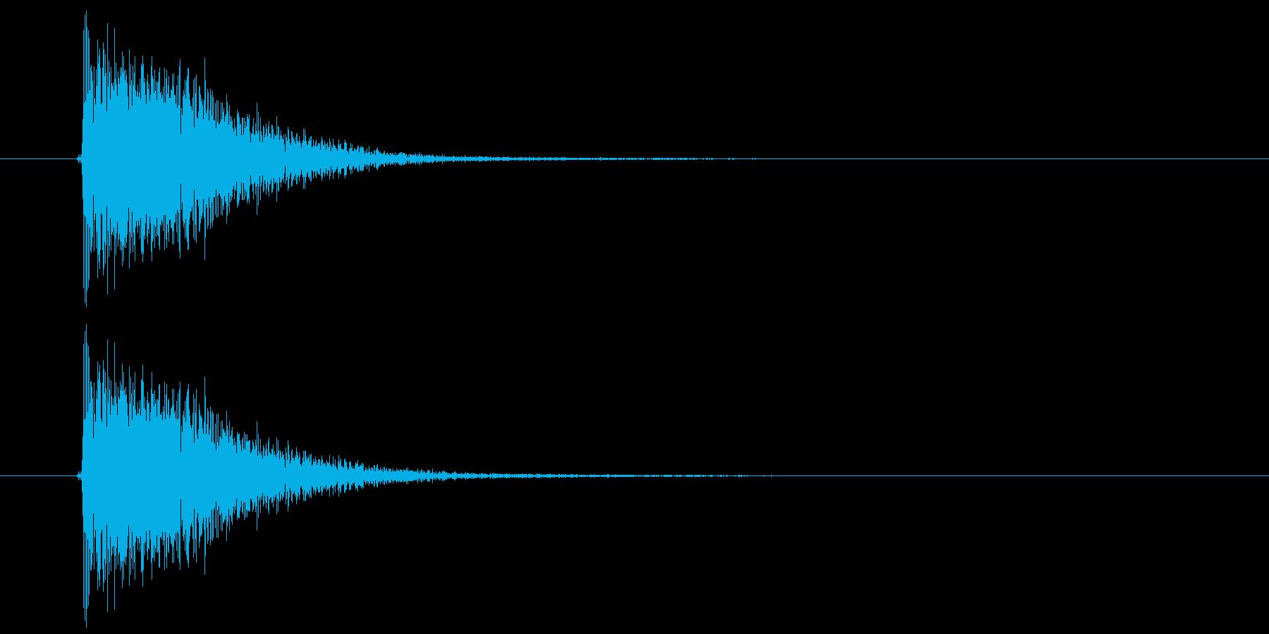 ジャン(登場、終了、発表)の再生済みの波形