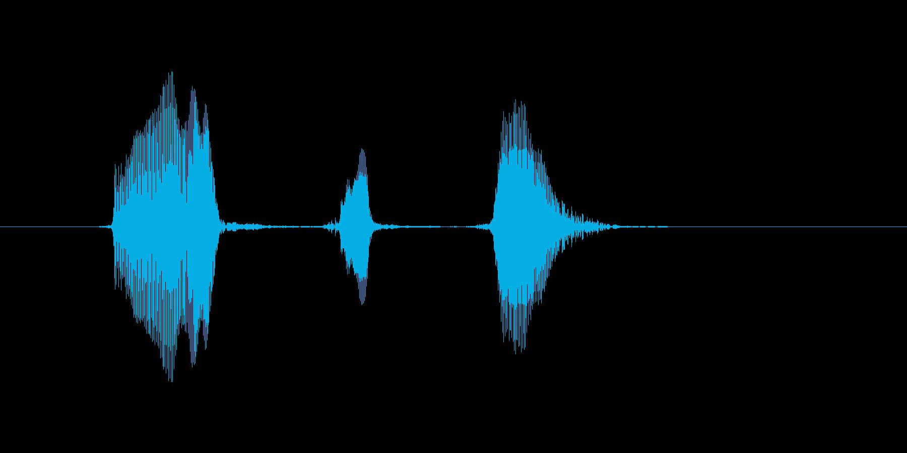 うっきっき!の再生済みの波形