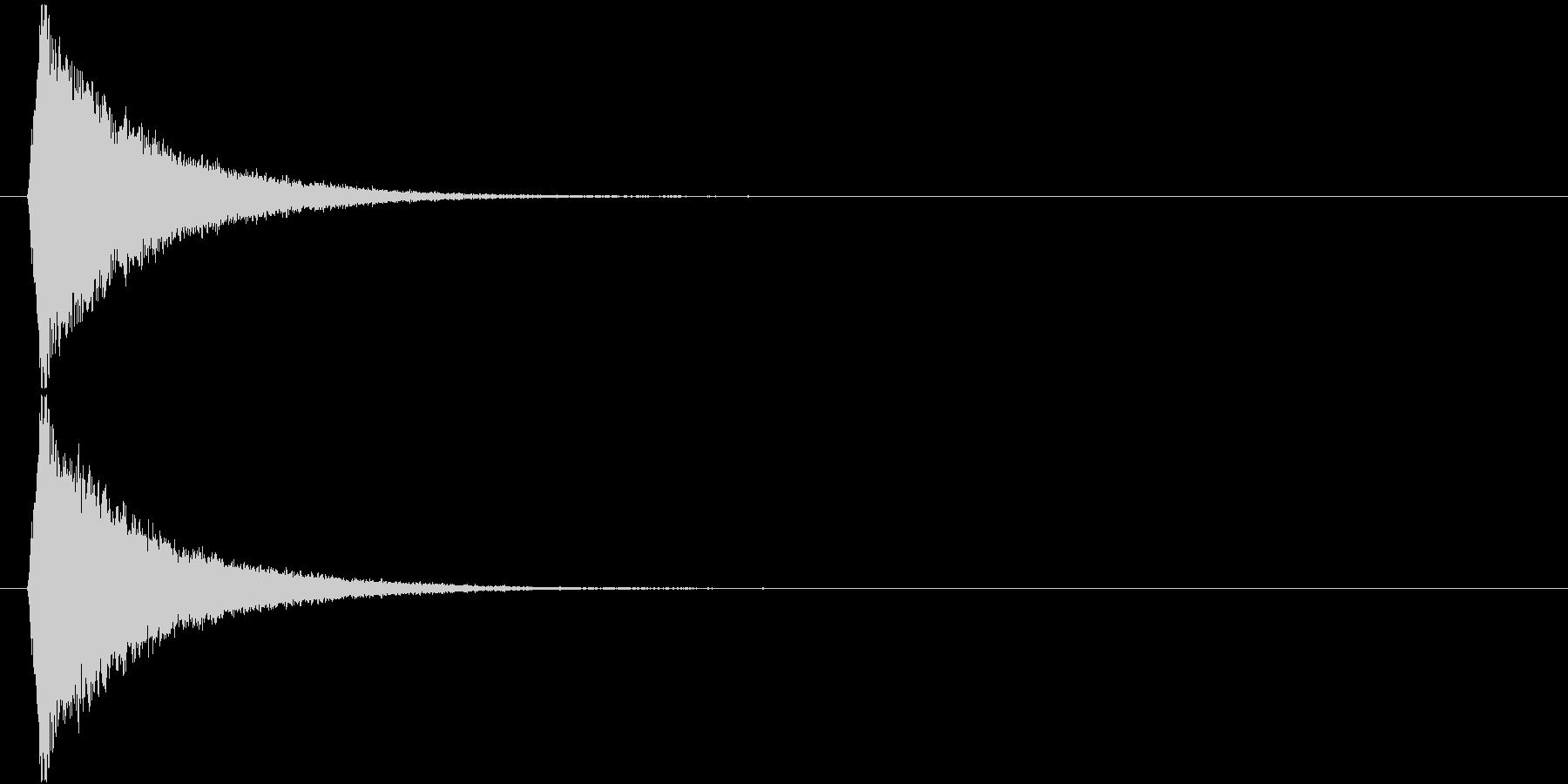 キラリっ↑(キラキラ、かわいい、星)の未再生の波形