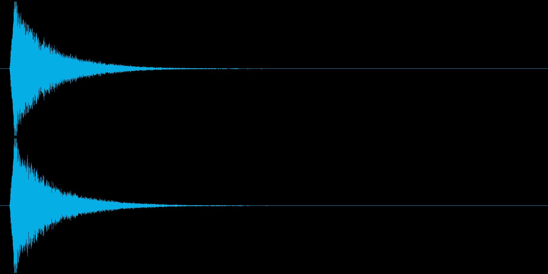 キラリっ↑(キラキラ、かわいい、星)の再生済みの波形