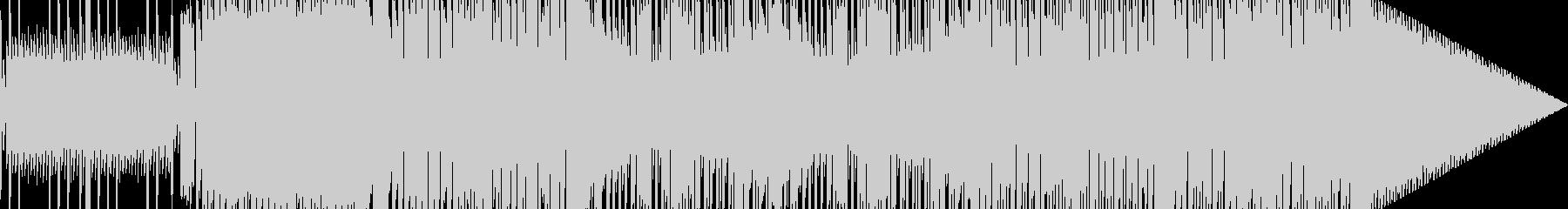 番組EDなどに 寂しいチップチューン01の未再生の波形