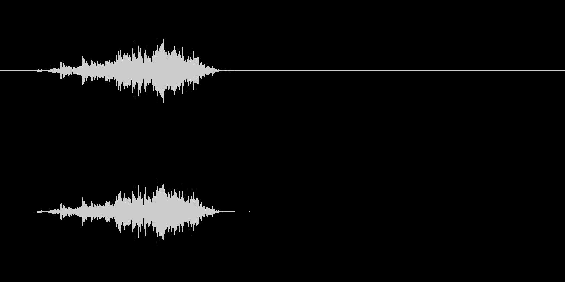 【カーテン01-3】の未再生の波形