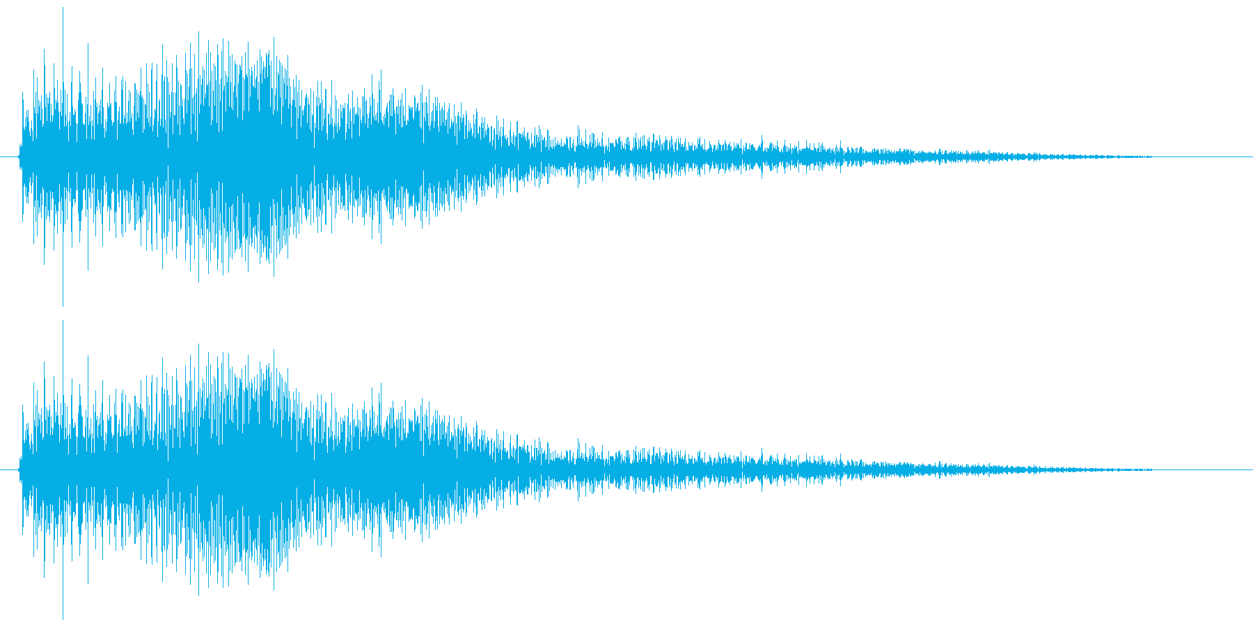 ぴゅん/移動/脱走/コミカルの再生済みの波形