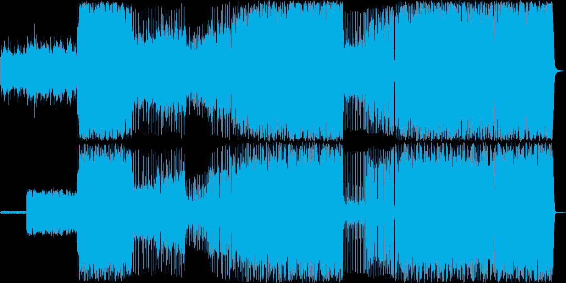 ほのぼの感のあるミディアムテンポの再生済みの波形