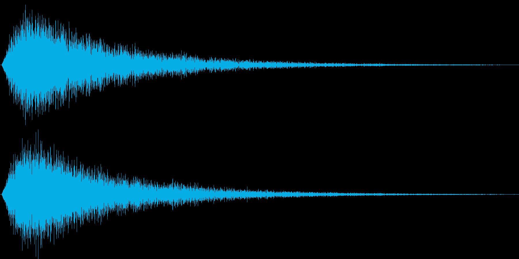 サウンドロゴ(華やか、気品)の再生済みの波形