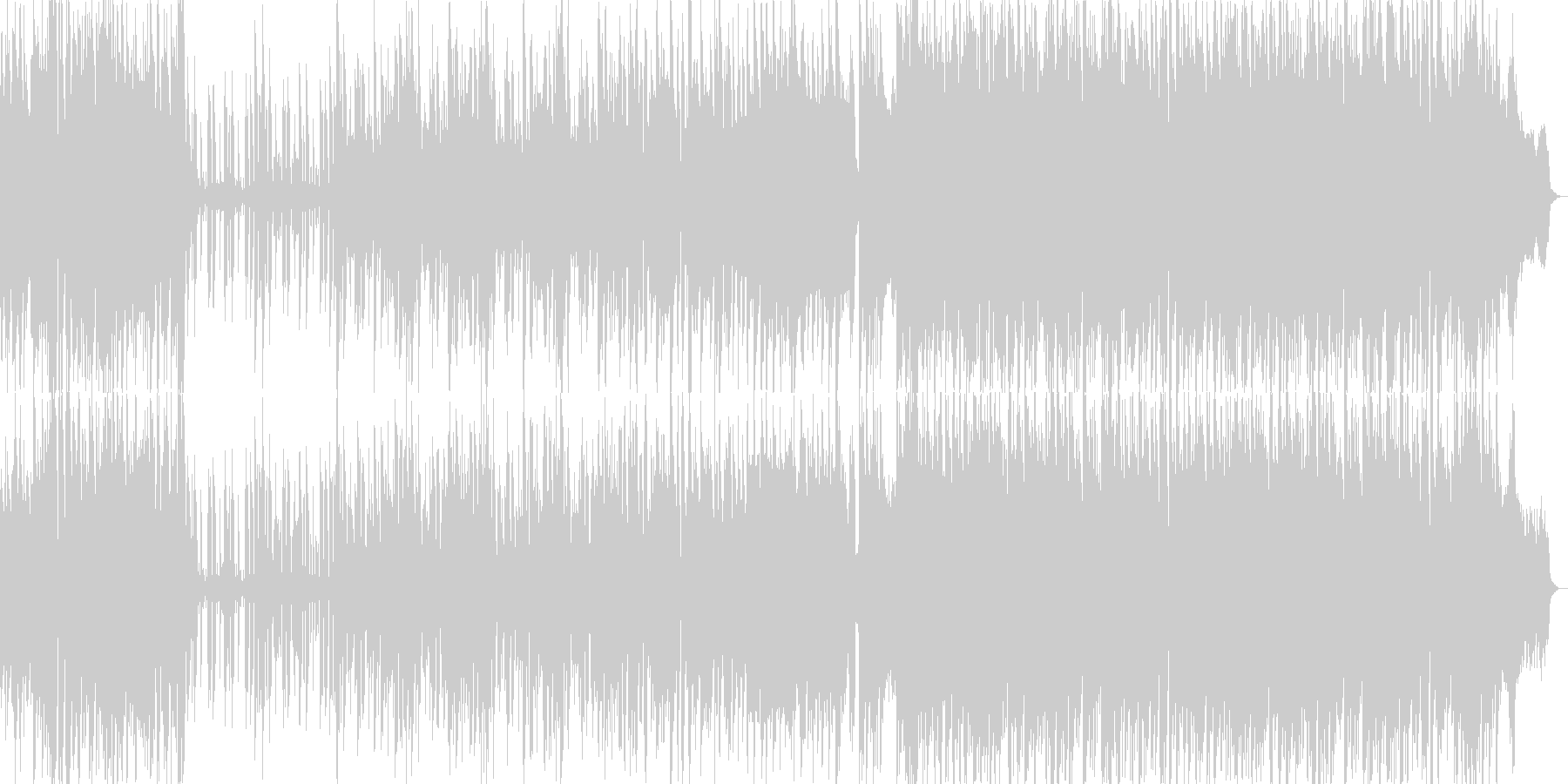 ポップでキャッチーな元気ピアノ繊細の未再生の波形