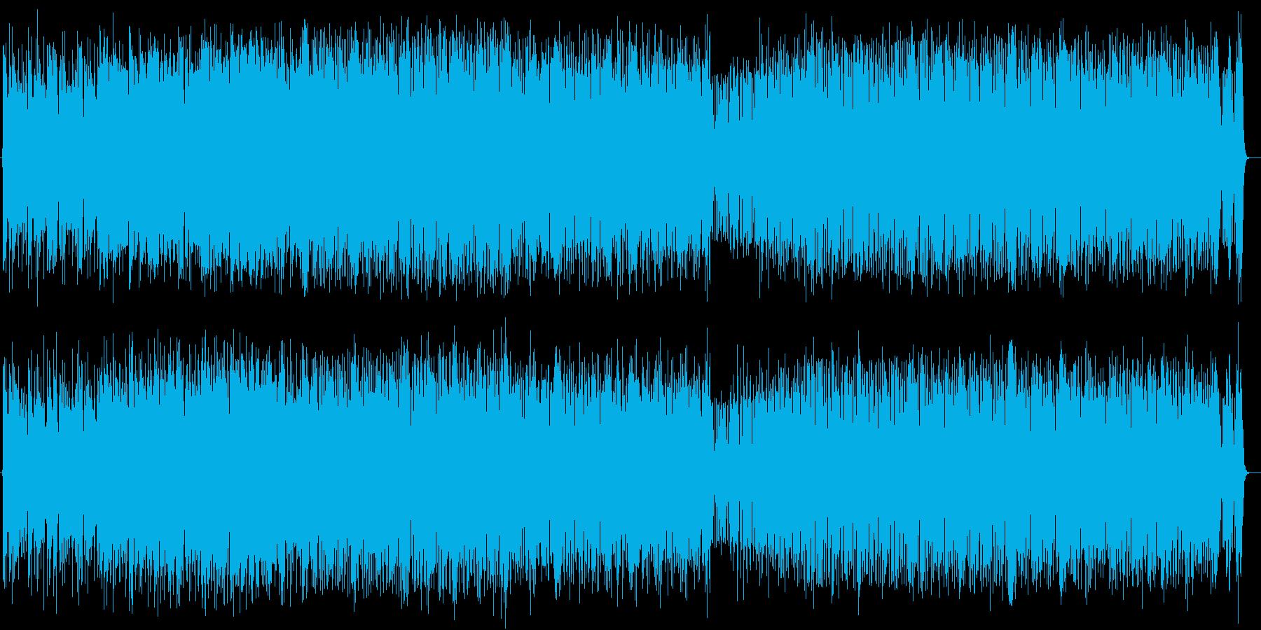 爽やかでおしゃれなギターサウンドの再生済みの波形