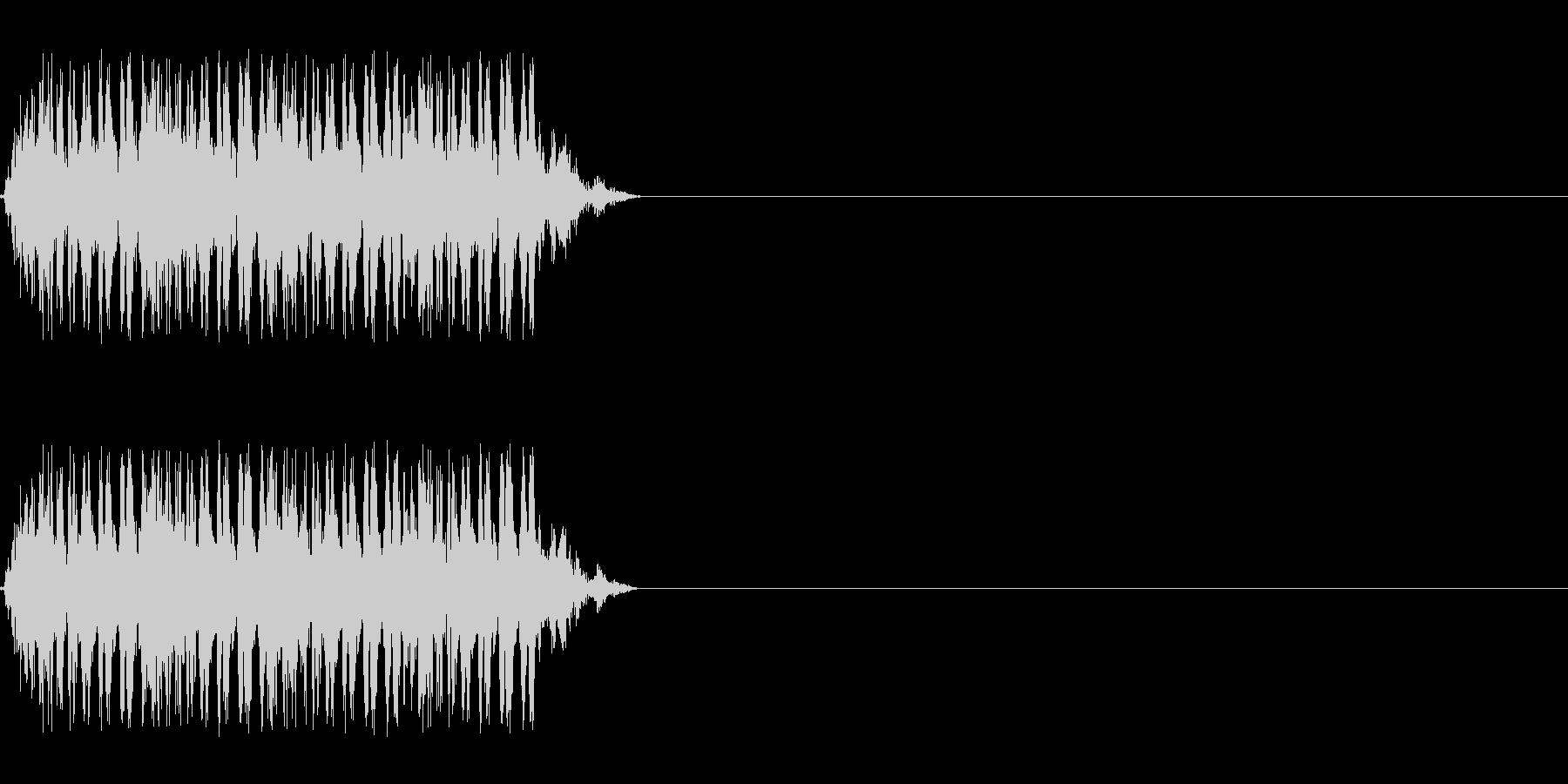【レーザー01-4】の未再生の波形