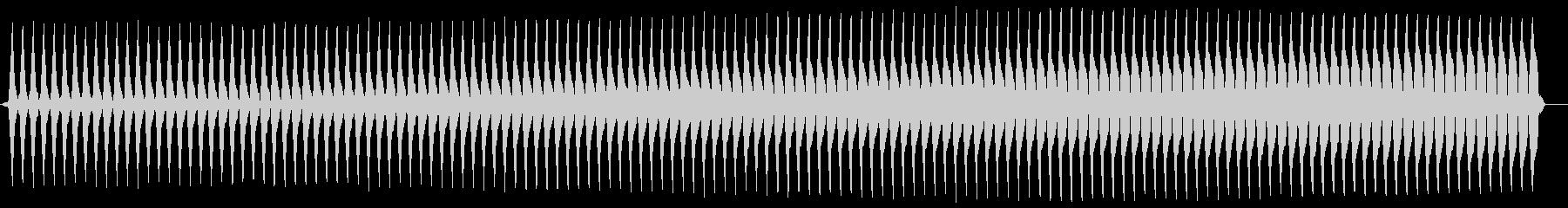 ブー。クイズ不正解/ブザー音の未再生の波形