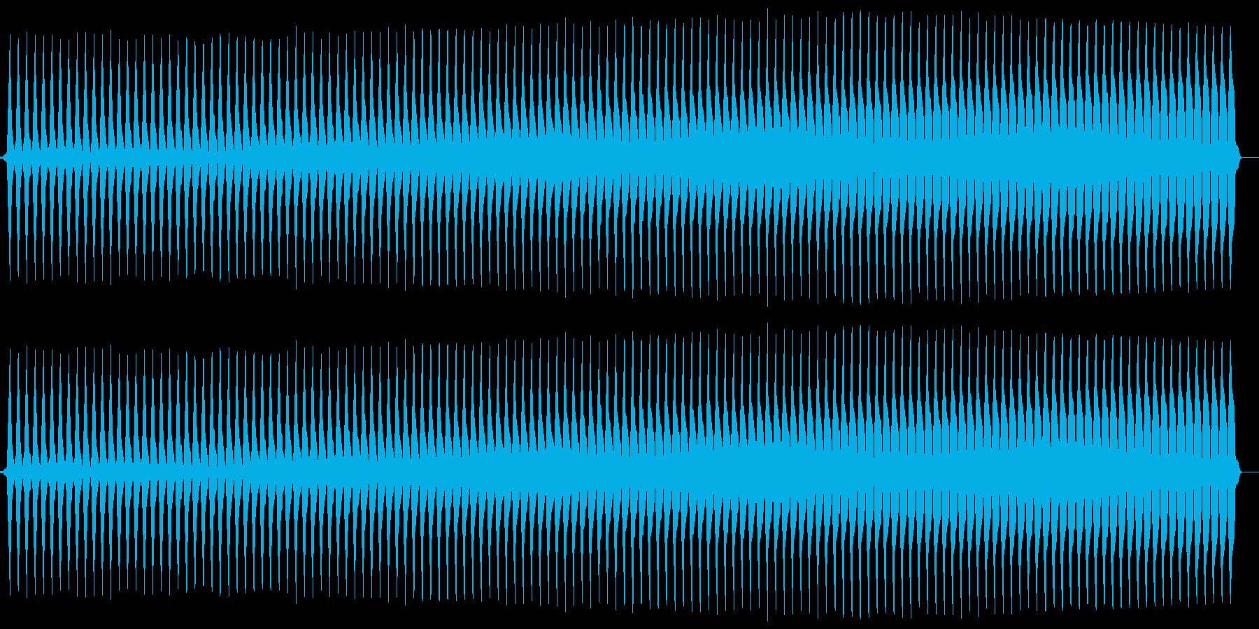 ブー。クイズ不正解/ブザー音の再生済みの波形