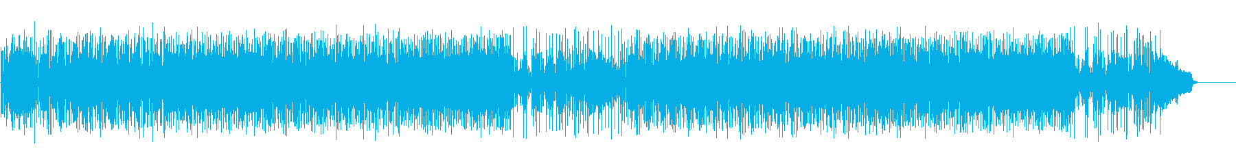 情報番組から店舗まで定番のキラーチューンの再生済みの波形
