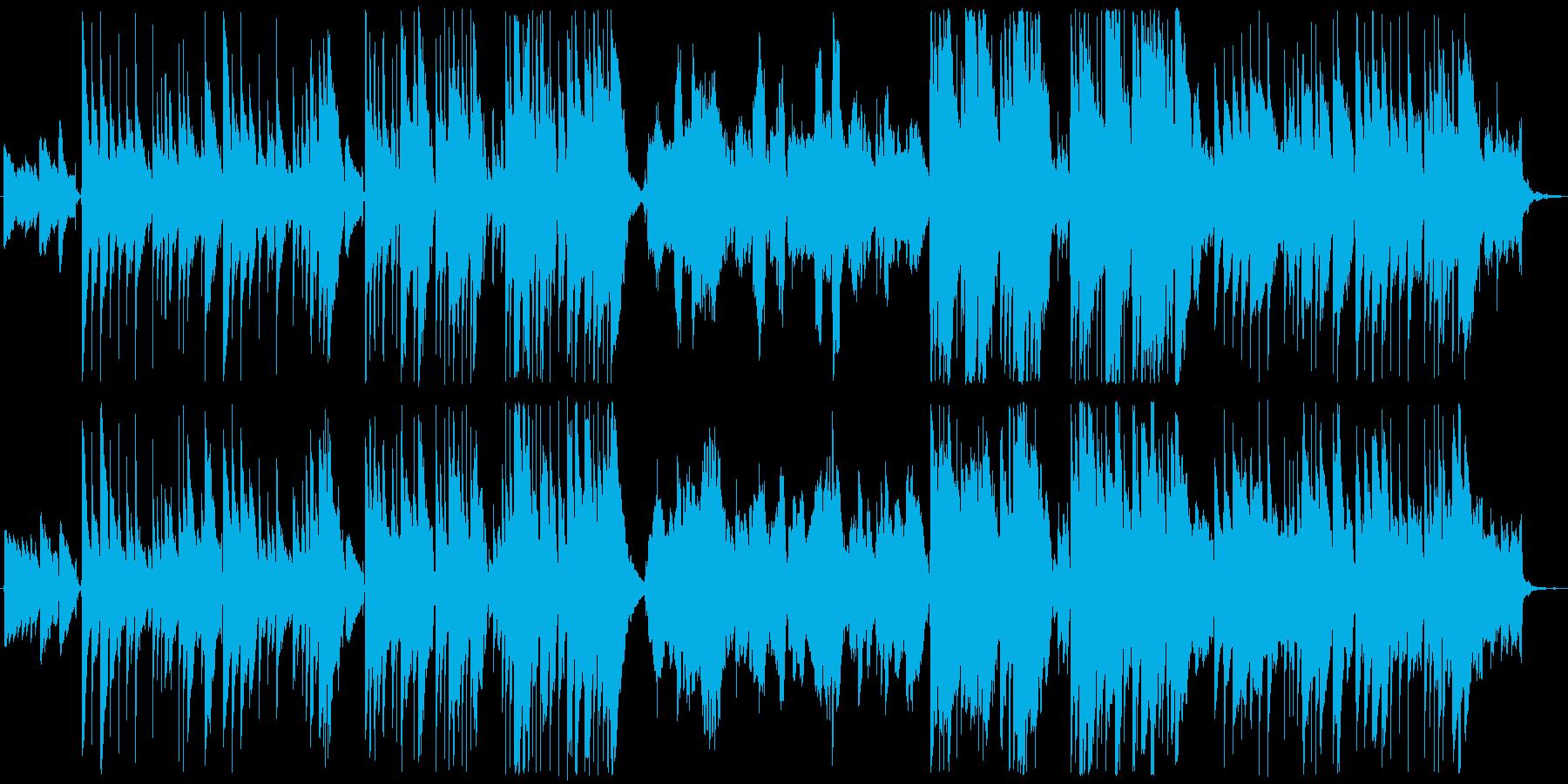 ほのぼのギターデュオ+チェロのインストの再生済みの波形